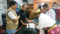 Serahkan Berkas Caleg ke KPU, Perindo Makassar Targetkan Satu Fraksi di DPRD