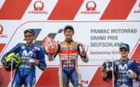 Rossi Terkejut Yamaha Rebut Podium 2 dan 3 di MotoGP Jerman 2018