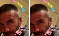 David Beckham Pamer Gaya Rambut Baru, Makin Seksi Enggak?