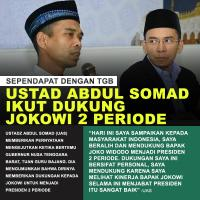 Viral Meme Ustaz Abdul Somad Dukung Jokowi 2 Periode, Ini Kata UAS