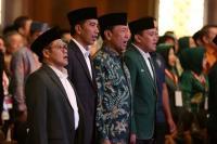 Bersanding dengan Cak Imin, Presiden Jokowi Hadiri Acara Harlah PKB