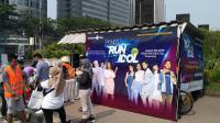 Tips Menarik Disuguhkan Pelari Legendaris Indonesia saat Pendaftaran Okezone Run With Idol di CFD