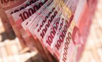 Rupiah Dibuka Menguat 32 Poin ke Rp14.463 USD