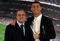 Takut Bertemu Florentino Perez, Ronaldo Tak Jadi Kunjungi Markas Latihan Madrid