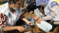 Semburan Air di Ngawi, Dinas ESDM Jatim Ambil Sampel Air untuk Diperiksa