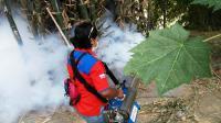Rescue Perindo <i>Fogging</i> Desa yang Rentan Terkena Luapan Sungai Bengawan Solo