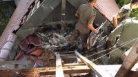 Diduga Gara-Gara Puntung Rokok, Kantor Gubernur Sulsel Terbakar