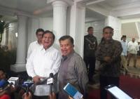 Kelakar JK ke Prabowo: Sudah 2 Kali Kita Bersaing, Ha Ha Ha Ha...
