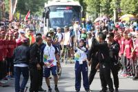 Catat, Ini Jalan yang Akan Ditutup saat Pawai Obor Asian Games di Jakarta Hari Ini