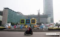 Ada Bus Gratis dari Stasiun Palmerah ke GBK Selama Asian Games 2018