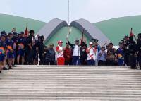 Obor Asian Games 2018 Mampir ke Gedung DPR MPR