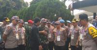 Jelang Pembukaan Asian Games, Kapolri dan Panglima TNI Tinjau GBK