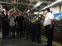 Penuhi Kebutuhan Gizi, 20 Ribu Kotak Susu Cair Diberikan kepada Korban Gempa Lombok