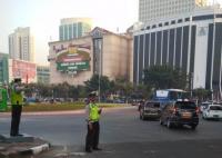 Senin Pagi, Arus Lalu Lintas di Jakarta Selatan Ramai Lancar