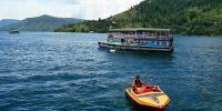 Kemarau Panjang, Debit Air Danau Toba Menurun Drastis