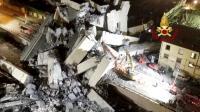 Polisi Italia Rilis Rekaman Saat-Saat Jembatan Layang Genoa Ambruk