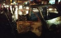 Mobil Pikap Terbakar di Tangsel, Sopirnya Malah Kabur