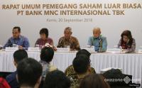 Gelar RUPSLB, MNC Bank Rombak Jajaran Manajemen