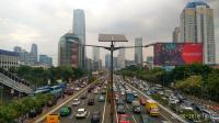 Jam Pulang Kerja, Jalan Gatsu Jakarta