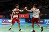 Marcus Kevin Melaju Mulus ke Perempatfinal China Open 2018