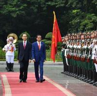 Jokowi Berbelasungkawa atas Meninggalnya Presiden Vietnam