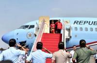 Terbang ke Bali, Jokowi Resmikan Garuda Wisnu Kencana