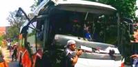 Ini Video Bus Meluncur Mundur di Turunan Akibat Tali Derek Putus, 1 Warga Tewas