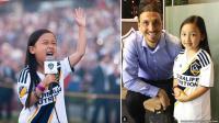 Sosok Malea Emma Tjandrawijaja, Bocah 7 Tahun Keturunan Indonesia yang Viral Setelah Bernyayi di Liga Amerika Serikat