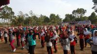Didukung MNC, Senam Massal Emak-Emak di Kendal Berlangsung Seru