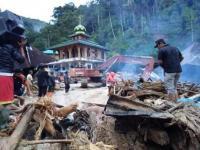 Kerusakan Bangunan Akibat Banjir Bandang Mandailing Natal Masih Didata