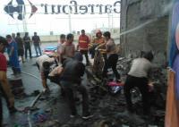 CBD Ciledug Tangerang Dilalap Api, Diduga Akibat Puntung Rokok
