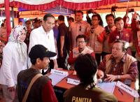 Cairkan Dana Korban Gempa, Jokowi: Untuk Bangun Rumah, Jangan Jadi Motor