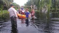 Diguyur Hujan Deras, Kota Dumai Terendam Banjir