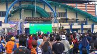 Disanksi Tanpa Penonton, Ribuan Aremania Tetap Serbu Stadion Kanjuruhan