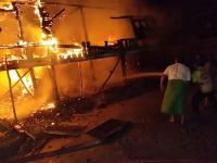 Gardu PLN Meledak, Satu Rumah Warga Ludes dan Seorang Warga Terluka