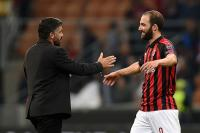Gattuso Harapkan Higuain Cetak Gol Kemenangan di Derby Milano