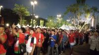 Suporter Mulai Padati SUGBK Jelang Laga Timnas Indonesia U-19 vs Qatar