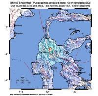 Gempa 5.2 SR Guncang Sigi, Getarannya hingga ke Palu dan Toraja