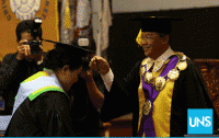 Pertama Kali, UNS Wisuda Lulusan Prodi Profesi Insinyur