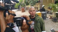 Ahmad Dhani Serahkan Barang Bukti dan Bawa Saksi Ahli ITE ke Polda Jatim