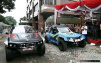 Uji Ketangguhan, Mobil Listrik Karya Anak Bangsa Keliling Indonesia