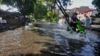 Banjir Rendam Permukiman Penduduk di Pangandaran