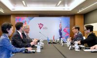 Di Sela KTT ASEAN, Jokowi Gelar Pertemuan dengan PM Australia