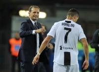 Cristiano Ronaldo Yakinkan Allegri untuk Bertahan di Juventus