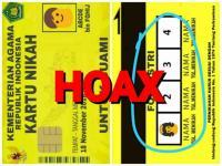 Viral Kartu Nikah dengan 4 Kolom Foto Istri, Kemenag: Hoax!