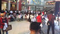 Pendukung dan Relawan Jokowi-Ma'ruf Padati Lokasi Acara #01Fest
