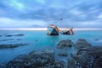 Kapal Kelotok Bermuatan Semen Tabrak Kapal Sawit, 1 Tewas dan 2 Hilang