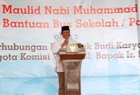 Kemenhub Serahkan Bantuan 5 Bus Sekolah untuk Ponpes di Jawa Tengah