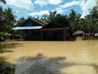 Banjir di Kampar Riau, Ratusan Warga Terisolasi dan Butuh Bantuan