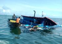 Kapal Indonesia Tabrakan dengan Kapal Tanker Panama, 11 WNI Dievakuasi ke Singapura